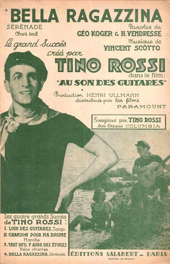 Tino Rossi - Tarentelle / Écoutez Les Mandolines