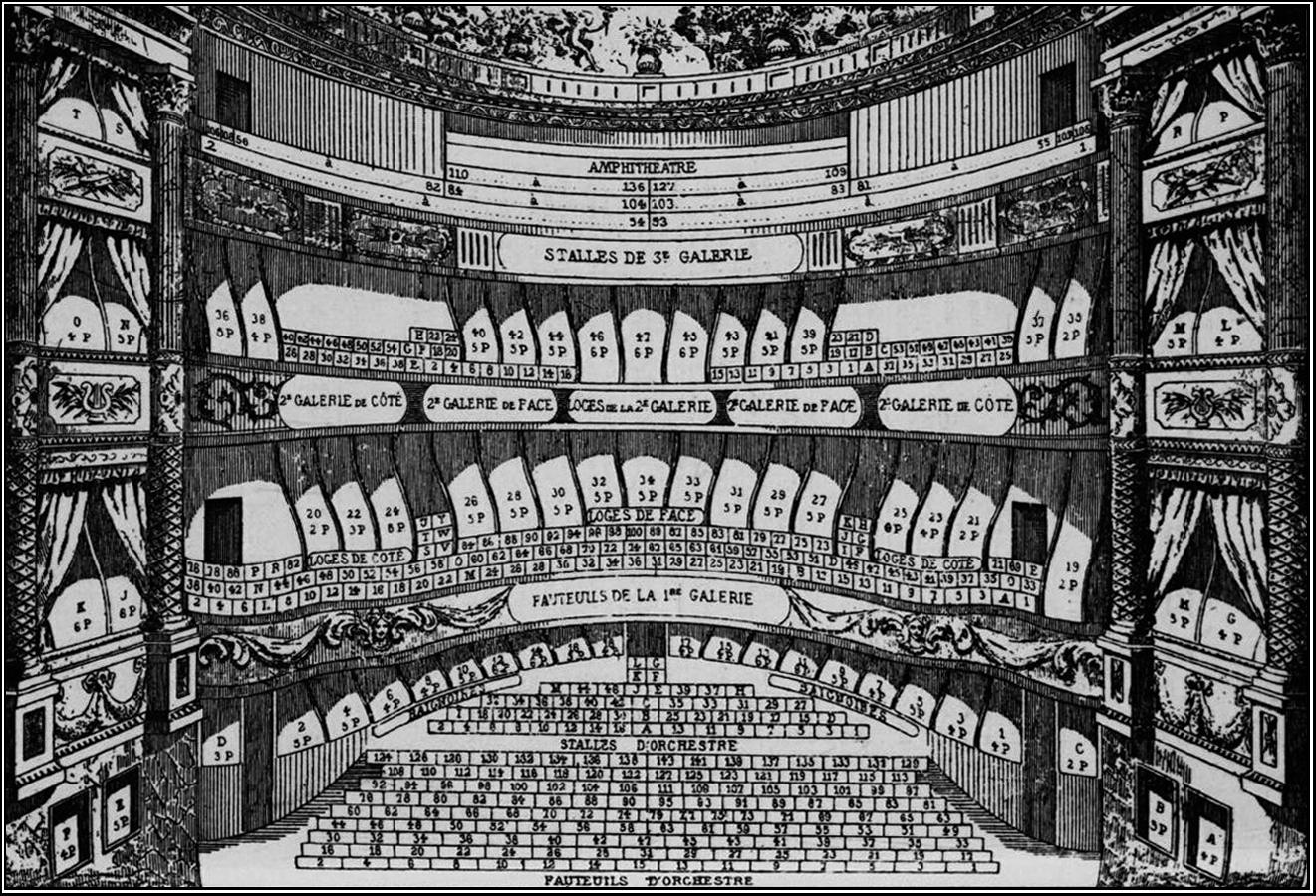 Palavrossavrvs rex no teatro do palais royal - Plan salle theatre porte saint martin ...