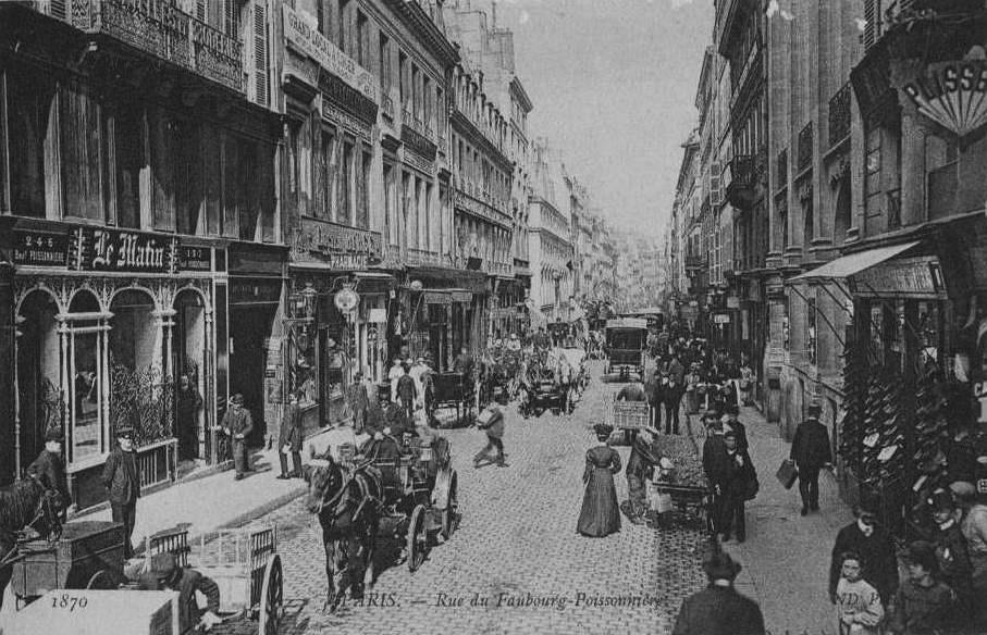 Le Caf Ef Bf Bd Du Commerce  Rue Du Commerce  Paris