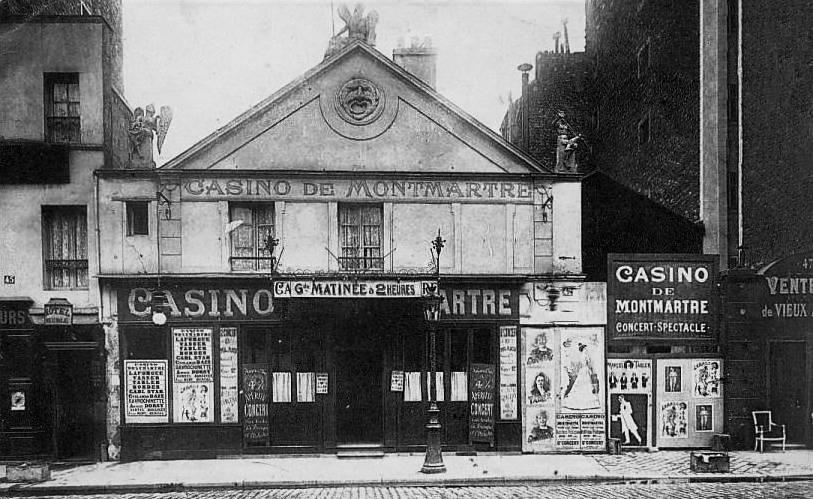 Caf s concerts et music halls for Bureau de poste paris 13 avenue d italie
