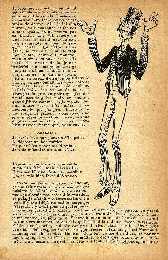 Gitane - Monologue
