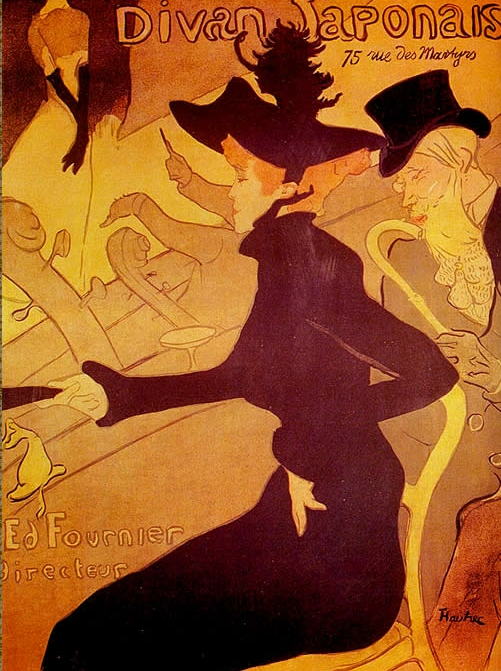 Toulouse Lautrec Moulin Rouge. Série de pages sur le French
